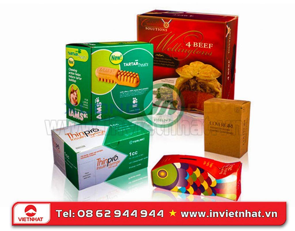 In vỏ hộp bánh kẹo chất lượng, giá rẻ - Nhận in gấp - In Việt Nhật %