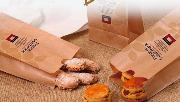 in túi giấy đựng thực phẩm đảm bảo