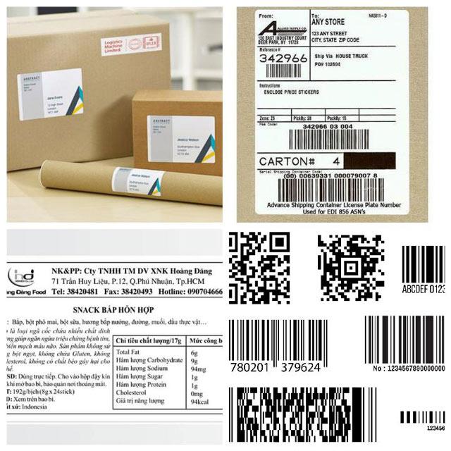 Tem nhãn phụ là loại tem bổ sung thêm các thông tin về sản phẩm