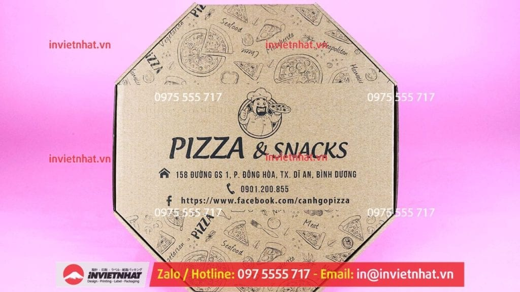 in hộp giấy đựng pizza 22