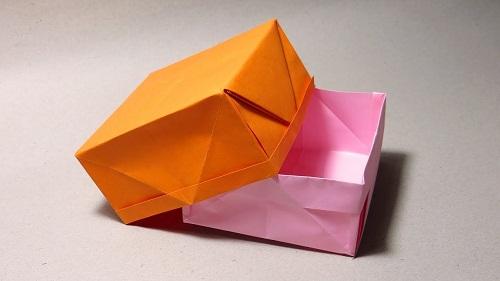 Hộp giấy đựng rác tiện lợi