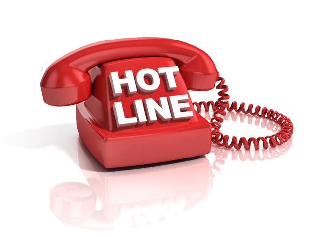 Liên hệ đặt in hóa đơn trực tuyến thông qua hotline