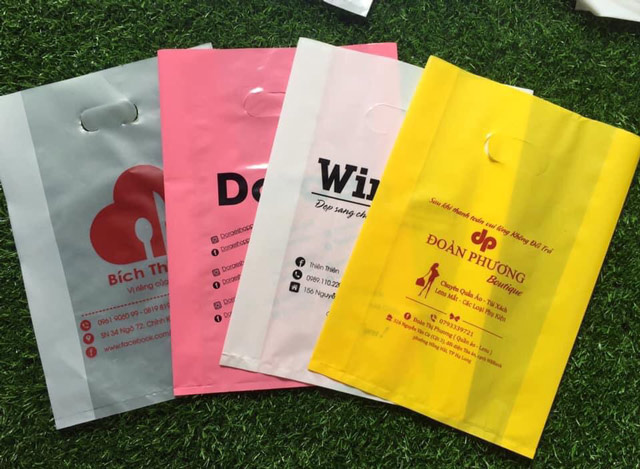 Túi ni lông cũng đóng vai trò trong quảng bá sản phẩm