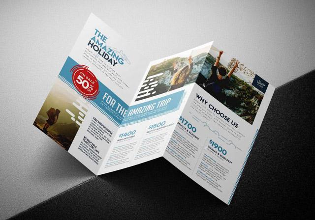 Nội dung trong brochure cần đầy đủ, súc tích
