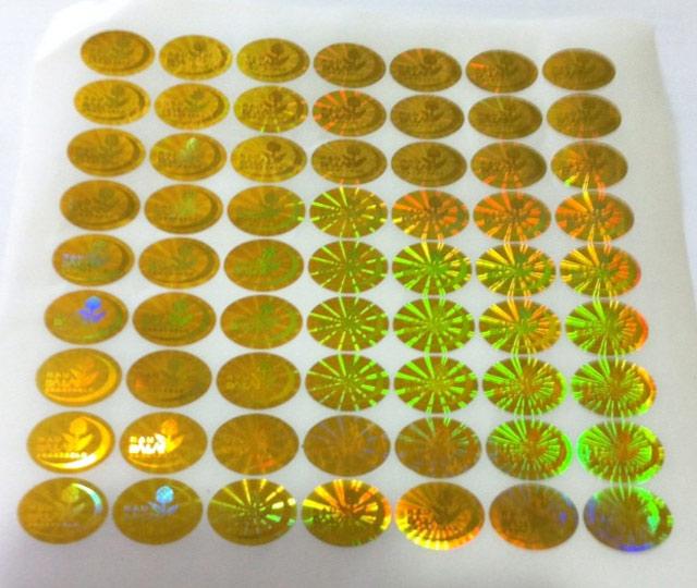 Phân loại tem 7 màu theo màu sắc