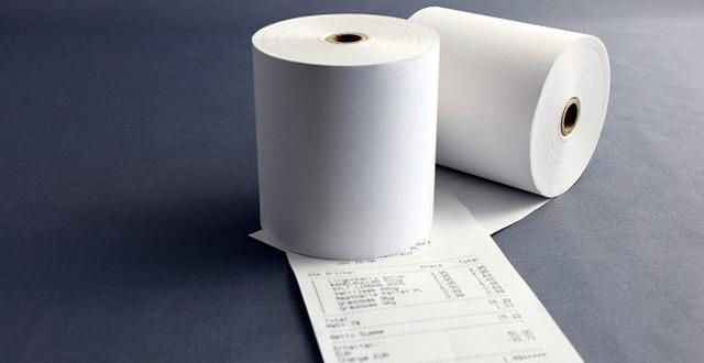 Giấy in nhiệt - in chữ, hình ảnh thông qua đầu nhiệt của máy in