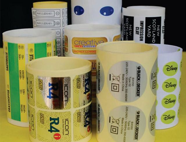 Công nghệ in nổi Flexo thường dùng để in tem cuộn nhiều màu