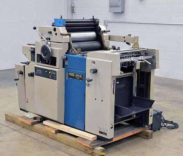 Thiết bị, máy móc in ấn hiện đại