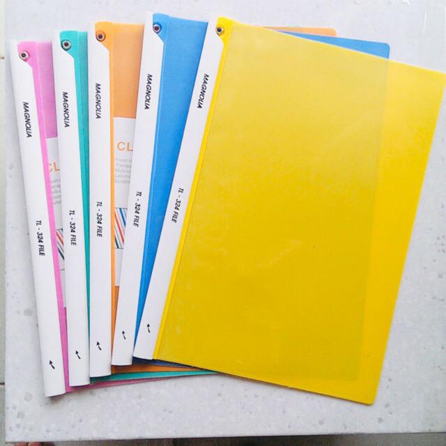 Màu sắc của kẹp file đa dạng