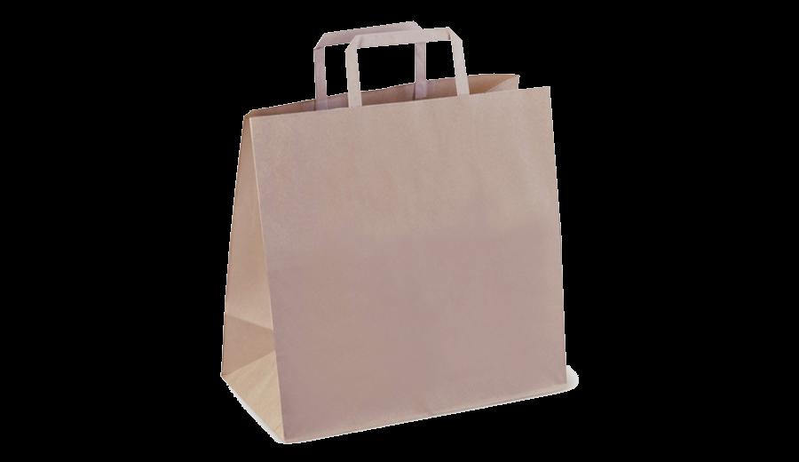 Kích thước túi giấy đa dạng, có sự khác nhau giữa túi giấy ngang và túi giấy đứng
