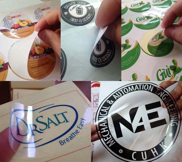 Lựa chọn chất liệu in tem dán ly phù hợp