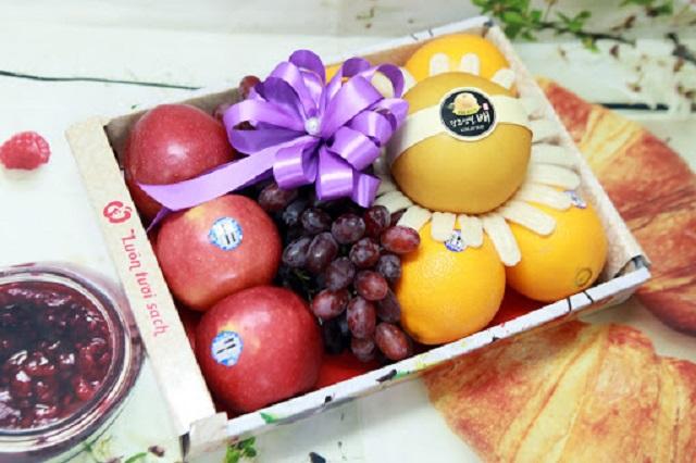 Hộp đựng trái cây giúp nâng tầm thương hiệu