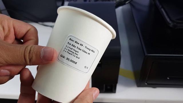 Loại tem nhiệt thông dụng trong các cửa hàng tiện lợi