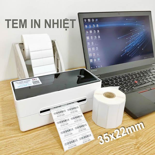 Quy trình in ấn tem nhiệt theo các thao tác nhất định