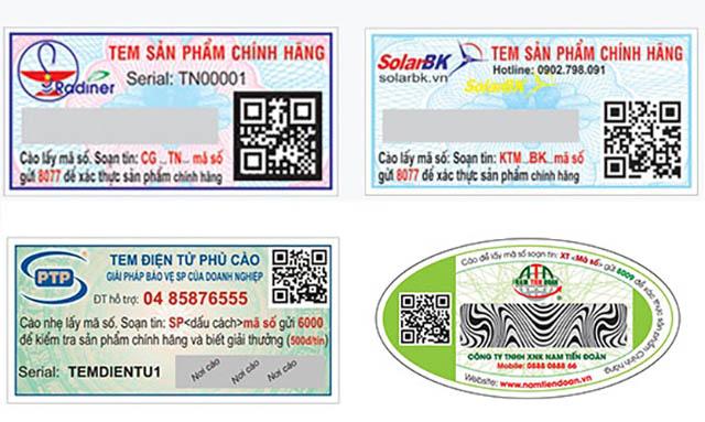 Thông tin trên tem sms xác thực và chuẩn xác