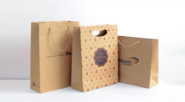 Sử dụng túi giấy tái chế giúp giảm lượng khí CO2
