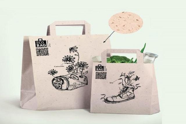 In túi giấy tái chế giúp tiết kiệm chi phí